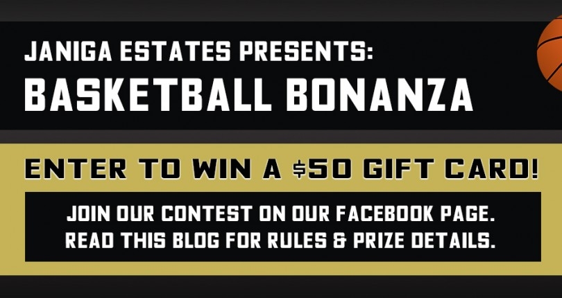 BASKETBALL BONANZA Facebook Contest