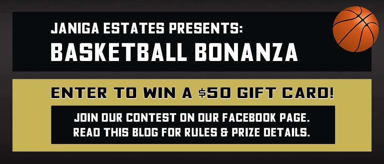 BASKETBALL BONANZA Facebook Contest