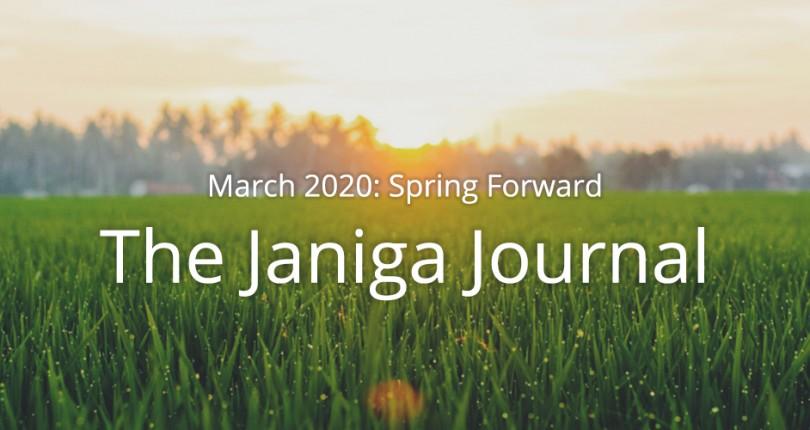 March 2020: Spring Forward