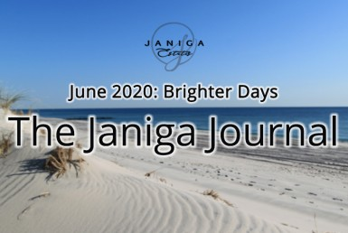 Sandy dune beach background. The Janiga Journal: June 2020: Brighter Days