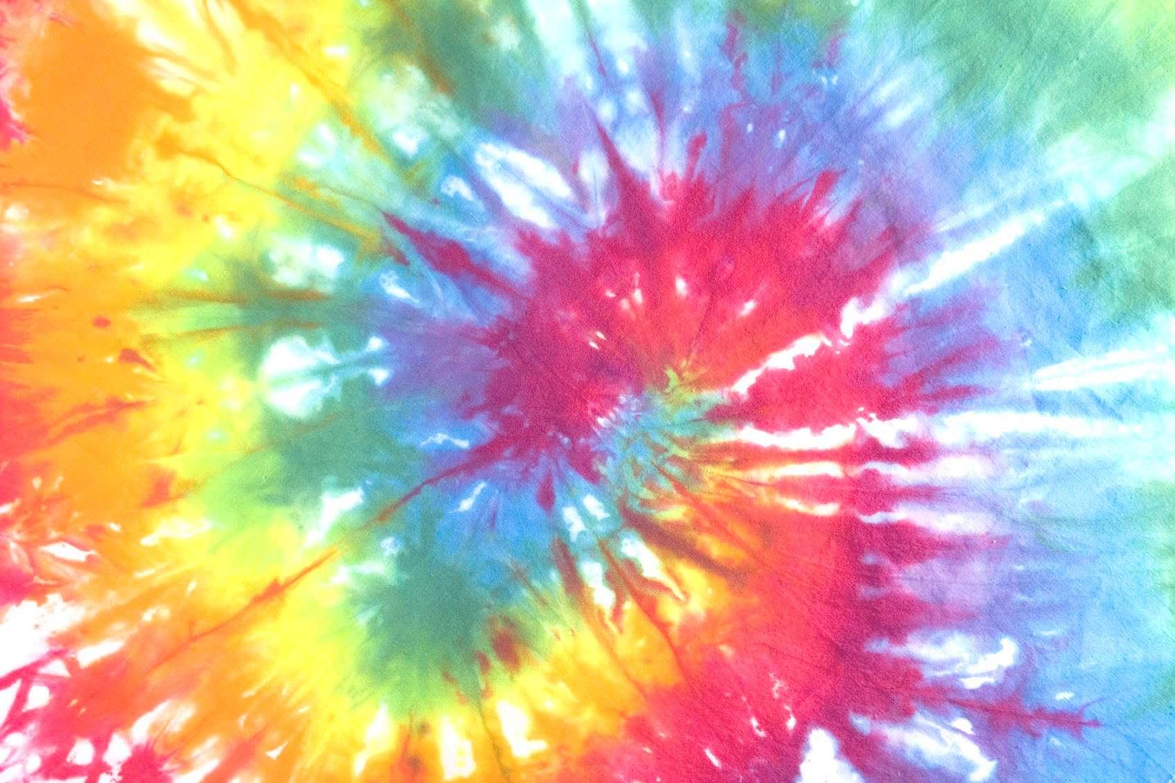 Rainbow Tie-Dye spiral.