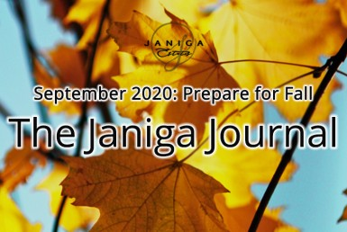 The Janiga Journal. September 2020: Prepare for Fall