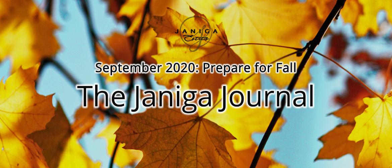 September 2020: Prepare for Fall
