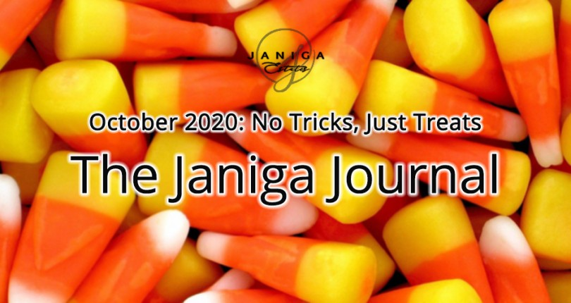 October 2020: No Tricks, Just Treats