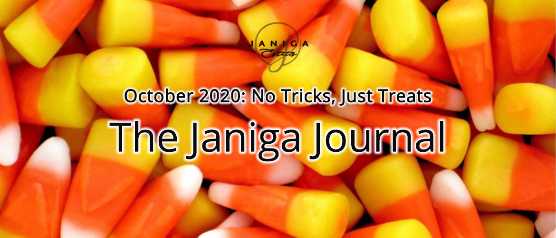 October 2020: No Tricks, Just Treats