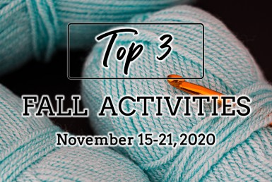 Top 3 Fall Activities: November 15-21, 2020