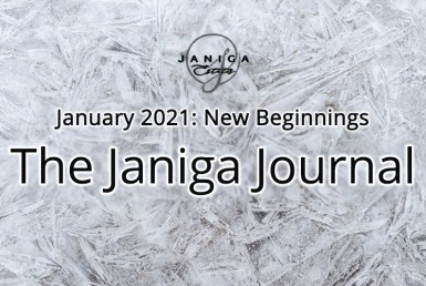 The Janiga Journal: January 2021: New Beginnings