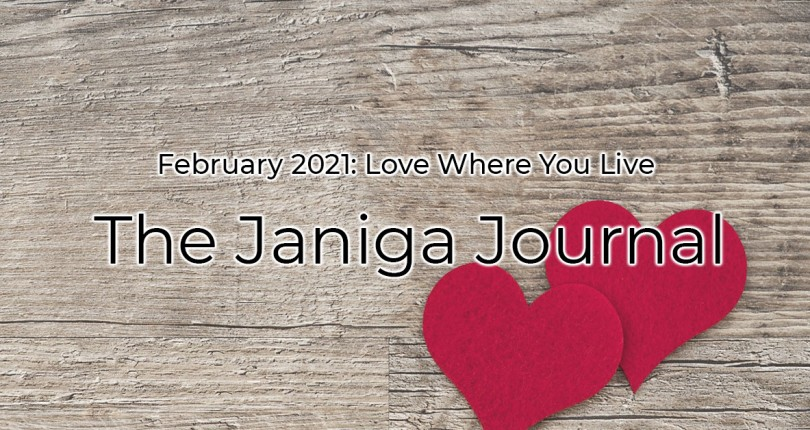 FEBRUARY 2021: LOVE WHERE YOU LIVE